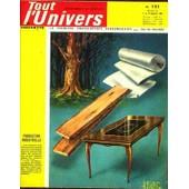 Tout L'univers N� 151 Du 09/09/1964 - Dumont D'urville - L'amerique Du Sud - La Fourmiliere - L'hovercraft Ou Aeroglisseur - La Birmanie - Le Sens De L'equilibre - Histoire De L'albanie.
