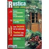 Rustica N� 1777 Du 14/01/2004 - Planter Des Anemones - Semer Des Geraniums Abris Et Cabanes De Jardin Les Lecons De La Canicule Testez Les Nouveautes Les Nefliers