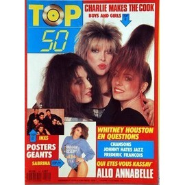 Top 50 N� 114 Du 09/05/1988 - Charlie Makes The Cook - Inkx - Sabrina - Annabelle - Kassav' - Whitney Houston - Johnny - Frederic Francois