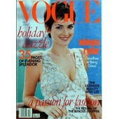 Vogue Usa N� 12 Du 01/12/1996 - Holiday Dazzle - Winona Ryder - 35 Pages Of Evening Splendor - A Passion For Fashion - The Return Of The Serious Shopper