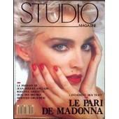Studio Magazine N� 40 Du 01/08/1990 - Madonna - Dick Tracy - Le Parrain Iii - Jean-Hugues Anglade - Rosana Arquette - Quai Des Brumes - Bernard Giraudeau.