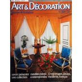 Art Et Decoration N� 209 Du 31/10/1978 - Savoir Presenter Une Collection Meubles Peints Contemporains 13 Reportages Ancien - Moderne - Rustique