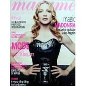 Madame Figaro N� 19807 Du 05/04/2008 - Madonna A Los Angeles - Style - Les Blogueuses Preferees Des Createurs - Spas - Nos Destinations Ultra-Luxe - Mode - Sonia Rykiel - Roselyne Bachelot Et Francoise Hardy - Je Me Souviens De Mai 68 - C...