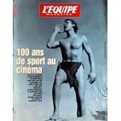 Equipe Magazine (L') N� 719 Du 23/12/1995 - 100 Ans De Sport Au Cinema / Johnny Weissmuller Dans Tarzan