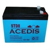 Batterie 12v 8ah 7.6ah Rechargeable