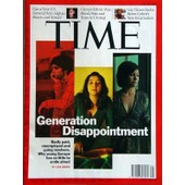 Time N� 29 Du 20/07/2009 - Generation Disappointment By Lisa Abend - Can A New Us General Win Afghanhearts And Minds - China's Ethnic War - Blood, Hate And Tears In Urumqi - Gay Times - Sacha Baron Cohen's New Incarnation