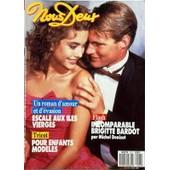 Nous Deux N� 2127 Du 05/04/1988 - Escalade Aux Iles Vierges / Roman - Tricot / Pour Enfants Modeles - Brigitte Bardot Par Denisot - Mathilda May