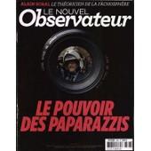 Nouvel Observateur (Le) N� 2568 Du 23/01/2014 - Le Pouvoir Des Paparazzis Alain Soral - Le Theoricien De La Fachosphere