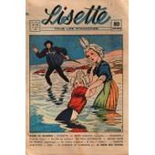 Lisette N� 34 Du 24/08/1941 - Je Dis Non / Roman - Louisette La Petite Sablaise / Nouvelle - La Villa Mysterieuse / Film - Jeune Fille De France / Reportage -