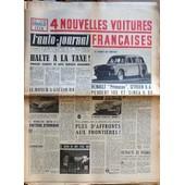 Auto Journal (L') N� 149 Du 01/05/1956 - 4 Nouvelles Voitures Francaises - Renault Princesse - Citroen D.A. - Peugeot 103 Et Simca 8 Cv - Halte A La Taxe - La Moteur A Gaz Liquide - Voiture Atomique - Plus D'affronts Aux Frontieres