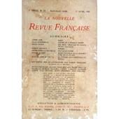 Nouvelle Revue Francaise (La) N� 79 Du 01/04/1920 - Textes De Gide - Supervielle - Gheon - Maurice - Drieu La Rochelle - Allard - Bloch - Reflexions Sur La Litterature Par Thibaudet - Notes Par Allard - Bertaux - Drieu La Rochelle - Duhamel - Larb...