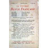 Nouvelle Revue Francaise (La) N� 117 Du 01/06/1923 - Textes De Valery - Proust - Ponge - Cohen - Deberly - La Litterature Par Thibaudet - Notes Par Allard - Cremieux - Fernandez - Fierens - De Lacretelle - Lhote - Mauriac - Pia - Porel - Rival - S...