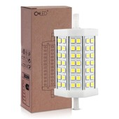 R7s J118 Ampoule Floodlight Dimmable 5050 Smd 42 Leds Blanc Nature 6000k 118mm