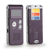 Enregistreur Num�rique Vocal Voix Dictaphone 8GB Go USB MP3