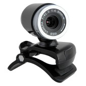 USB 50.0 M�ga Pixel Webcam Web Cam Cam�ra Video + Microphone pour PC Laptop NOIR