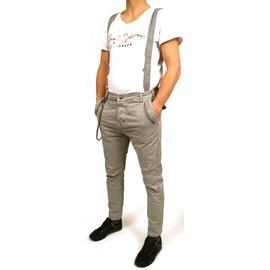 Pantalon Salopette Bretelle Amovible Homme Neuf