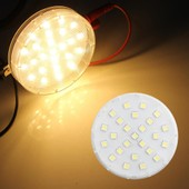 Gx53 Plafonnier Spot Lampe Blanc Chaud 5050 Smd 25 Leds 3600k 4w Ac220-240v