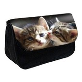 Trousse � Crayons / Maquillage Chat -128 - Ref: 128