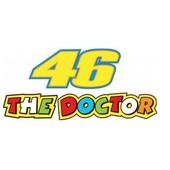 Sticker Valentino Rossi 46 The Doctor