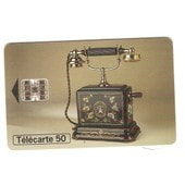T�l�carte T�l�phone Ancien Ericsson 1900 T�l�phone Su�dois � Boitier En M�tal 50 Unit�s