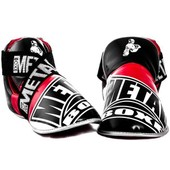 Prot�ges Pieds Full Contact Competition Noir-Blanc-Rouge - Xl