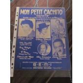Mon Petit Cachito - Paroles Fran�aises De Jacques Larue
