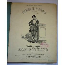 Lot Important de Partitions anciennes Reliées en 1 volume ( Offenbach,Massenet..)