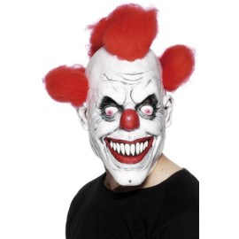Masque De Clown - Terrifiant - Adulte - Taille Unique - Halloween