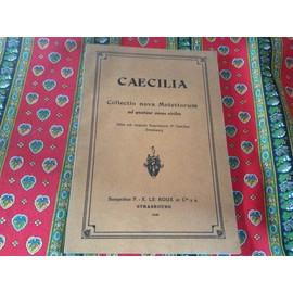 Collectio nova motettorum Caecilia
