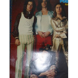 SLADE poster alice cooper david bowie marc bolan T.REX dimitri pink floyd jackson's five 1972