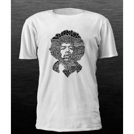 T-shirt jimi hendrix artstique titres musiques