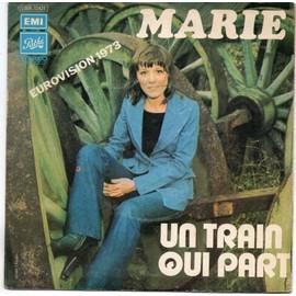 Un Train Qui Part - Eurovision 1973  (2nd pochette)