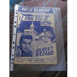 Patte Blanche (du film Le pays d'où je viens)