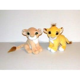 Roi Lion Peluche Simba Et Nala Le Roi Lion Disney Aimant�