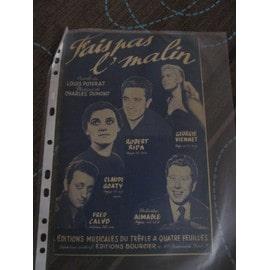 Fais Pas L'malin (Chantée par Robert Ripa, Georgie Viennet, Claude Goaty, Fred Calvo, Aimable)