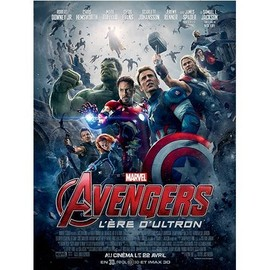 Avengers : L'�re D'ultron -V�ritable Affiche De Cin�ma Pli�e -Format 120x160 Cm -De Joss Whedon Avec Robert Downey Jr., Chris Evans, Scarlett Johansson, Chris Hemsworth, Samuel L. Jackson - 2015