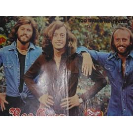 BEE GEES poster Dave michel delpech éric charden elvis presley miou-miou julien clerc drucker 1979