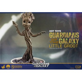 Marvel Guardians Of The Galaxy Baby Groot Little Groot 1/4 Scale 12cm Hot Toys