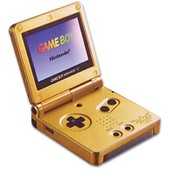 Game Boy Advance Sp - Zelda Limited Edition Pack