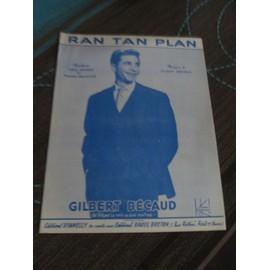Ran Tan Plan / Gilbert Bécaud