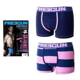 Boxer Freegun Gar�on Pack De 2 By Fred Michalak