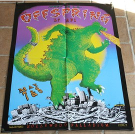 poster affiche THE OFFSPRING + L7 88x63cm