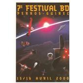 Carte Postale Bajram Denis Festival Bd Perros Guirec 2000 (Fus�e Tintin. Uw1...)