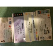 Tickets Football Le Havre Nice Caen 2001 2009