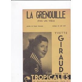 La Grenouille (Yvette Giraud)