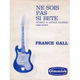 Ne sois pas si bête (France Gall)