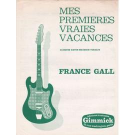 mes premières vraies vacances (France Gall)