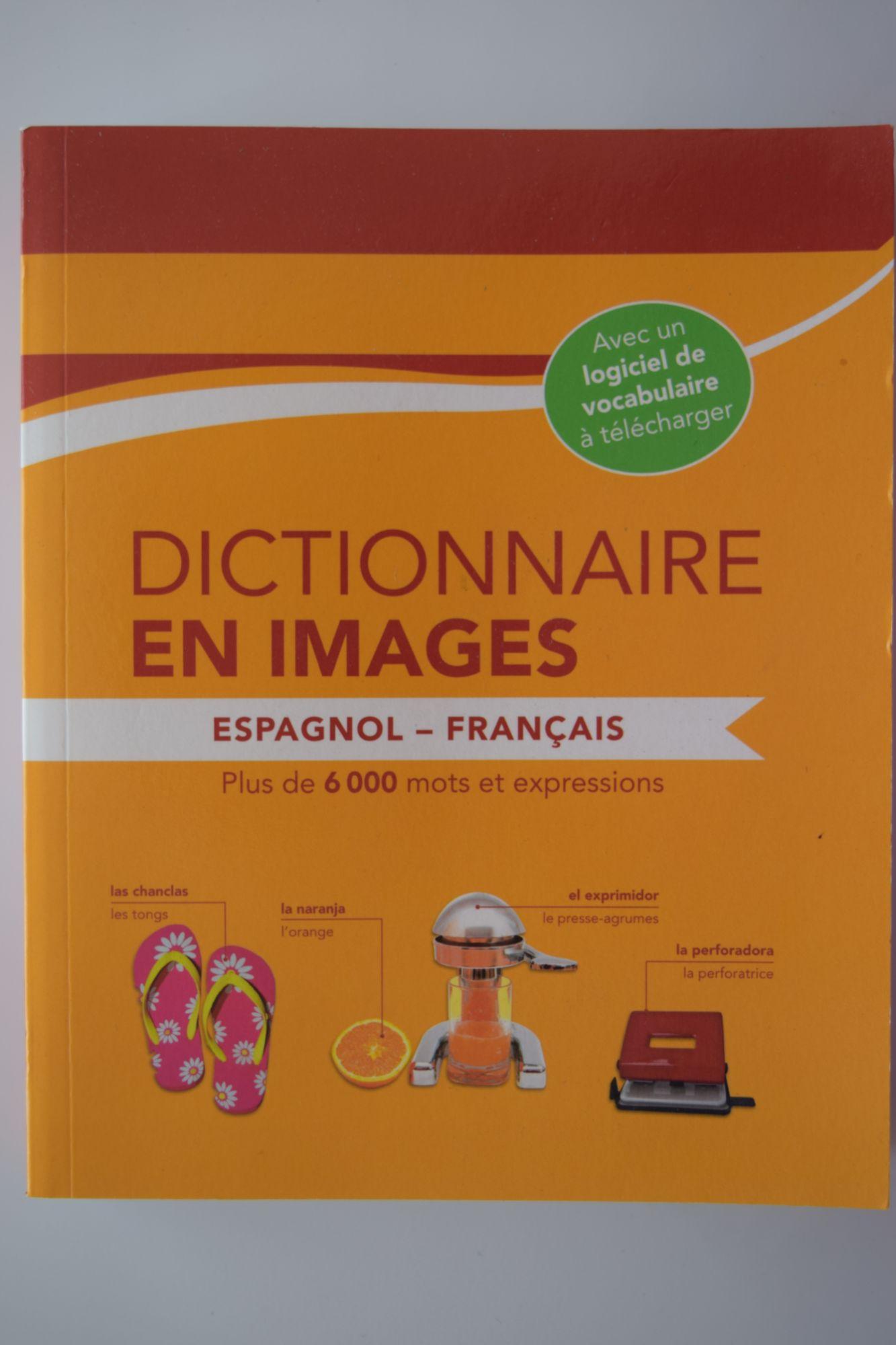 DICTIONNAIRE EN IMAGES ESPAGNOL - FRANCAIS