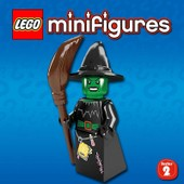 Lego Minifigures 8684 S�rie 2 - Witch/Sorciere