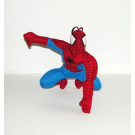 Spiderman Peluche Accroupi 16 Cm